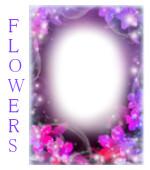श्रेणी फूल फोटो फ्रेम