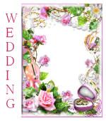 Категория свадьба Фоторамки