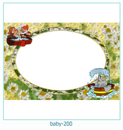 baby Photo frame 200