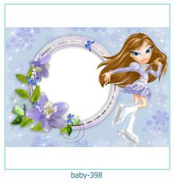 Marco de la foto del bebé 398