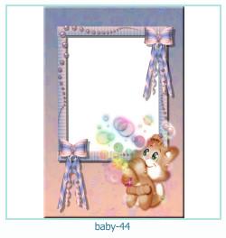 Marco de la foto del bebé 44
