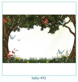 Marco de la foto del bebé 443