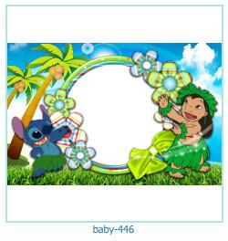 Marco de la foto del bebé 446