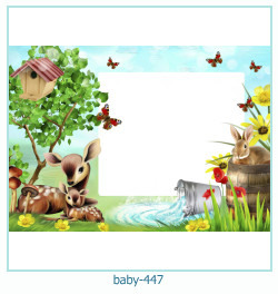 Marco de la foto del bebé 447