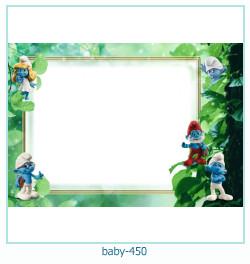 Marco de la foto del bebé 450