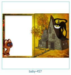 Marco de la foto del bebé 457