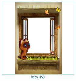 Marco de la foto del bebé 458