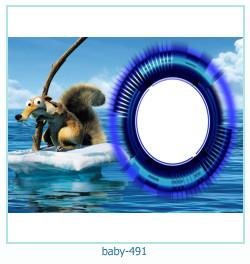 Marco de la foto del bebé 491