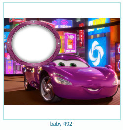 Marco de la foto del bebé 492