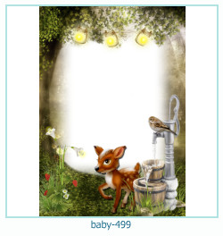 Marco de la foto del bebé 499