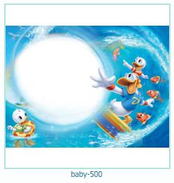 Marco de la foto del bebé 500