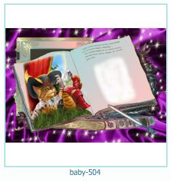 Marco de la foto del bebé 504