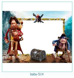 Marco de la foto del bebé 514