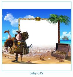 Marco de la foto del bebé 515