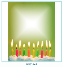 Marco de la foto del bebé 521