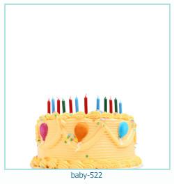 Marco de la foto del bebé 522