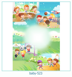 Marco de la foto del bebé 523