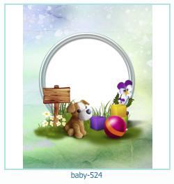 Marco de la foto del bebé 524