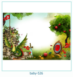 Marco de la foto del bebé 526