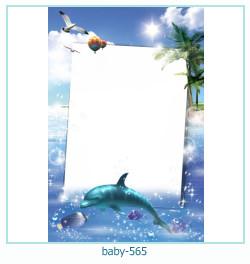Marco de la foto del bebé 565