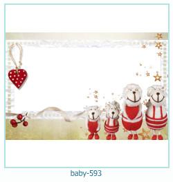 Marco de la foto del bebé 593