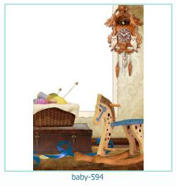 Marco de la foto del bebé 594