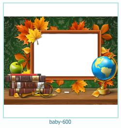 Marco de la foto del bebé 600