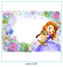 bébé Cadre photo 639