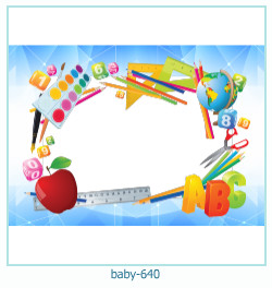 baby Photo frame 640