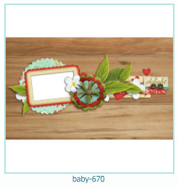 baby Photo frame 670