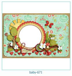bebê Photo Frame 671
