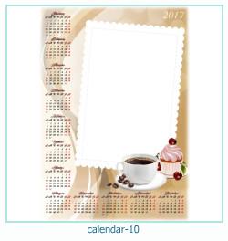 कैलेंडर फोटो फ्रेम 10