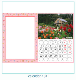 calendrier cadre photo 101