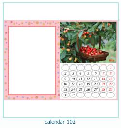 calendrier cadre photo 102