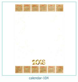 कैलेंडर फोटो फ्रेम 104