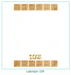 calendrier cadre photo 104