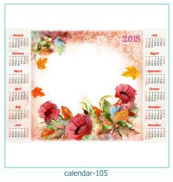 calendrier cadre photo 105