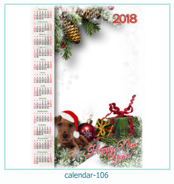 calendario fotografico cornice 106