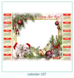 calendario fotografico cornice 107