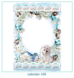calendario fotografico cornice 109