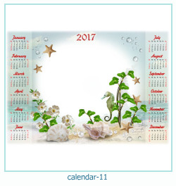 calendrier cadre photo 11