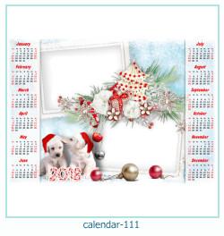 calendario fotografico cornice 111