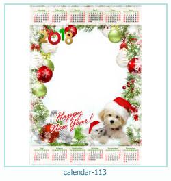 calendario marco de fotos 113