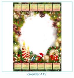 calendario marco de fotos 115