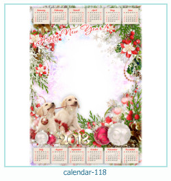 calendrier cadre photo 118