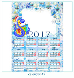 calendrier cadre photo 12