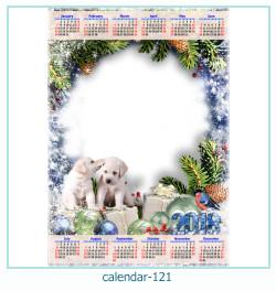 Kalender Fotorahmen 121