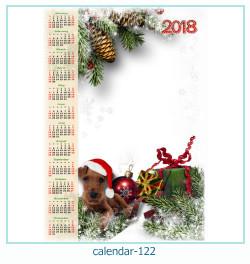 تقویم 122 قاب عکس