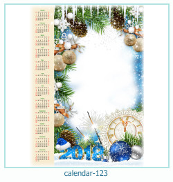 Kalender Fotorahmen 123