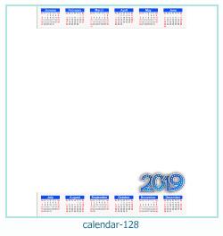 calendar photo frame 128
